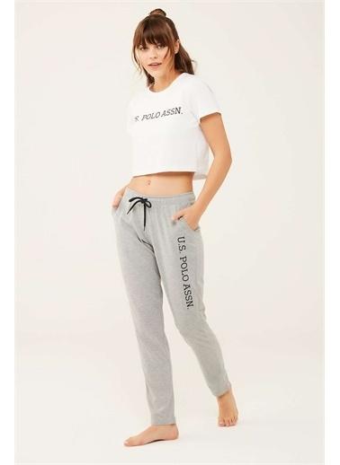 U.S. Polo Assn. U.S. Polo Assn. Kadın Lacivert Pijama Altı Gri